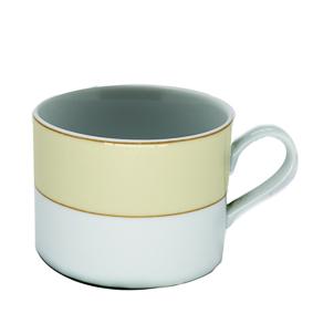 Xícara de Chá Borda Bege 150ml