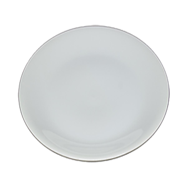 Prato Branco Liso Abaloado