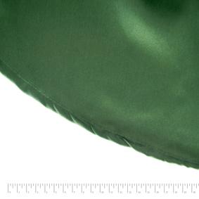 Toalha Redonda Cetim Verde Musgo