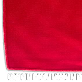 Toalha Retangular Crepe Vermelha 3,00x1,50