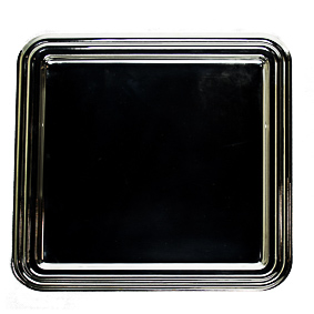 Bandeja de Prata Quadrada 34x34