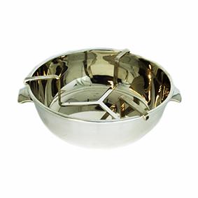 Cumbuca de Prata Porta Caviar