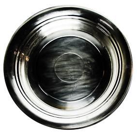 Travessa de Prata Redonda Funda 50cm
