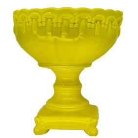 Fruteira de Ceramica Funda Amarela 24x27