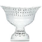 Fruteira de Porcelana Oval Provençal 31x23x25