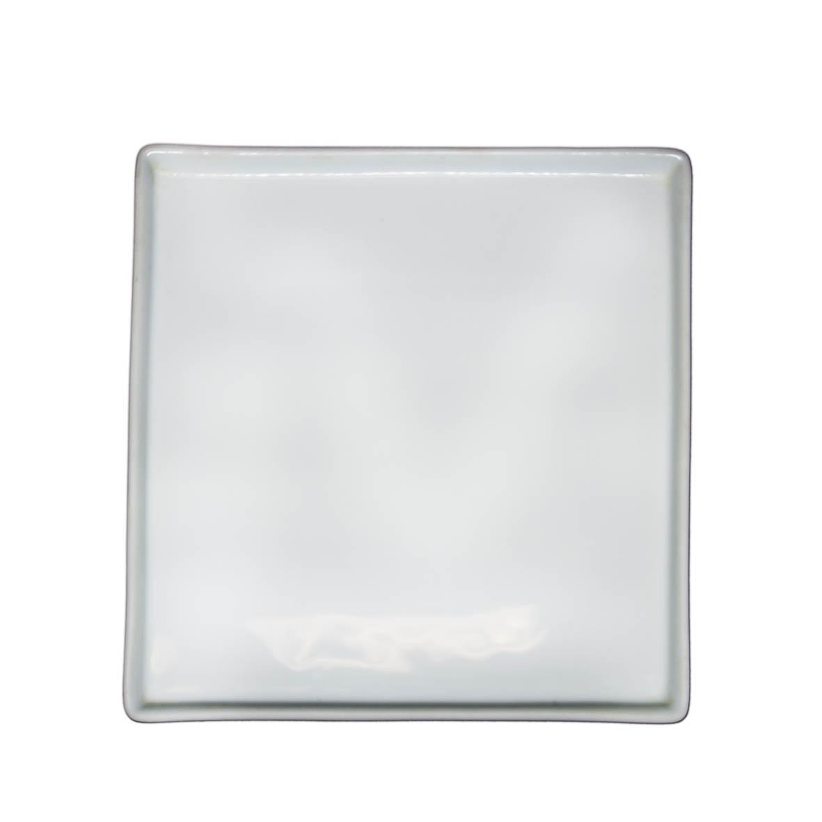 Travessa de Porcelana Quadrada 26x2,5
