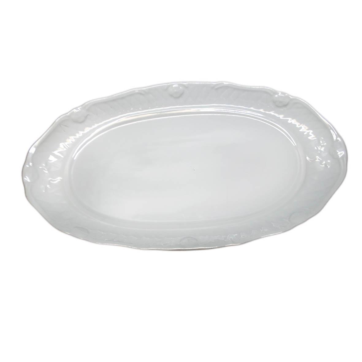 Travessa de Porcelana Oval 47x26x4