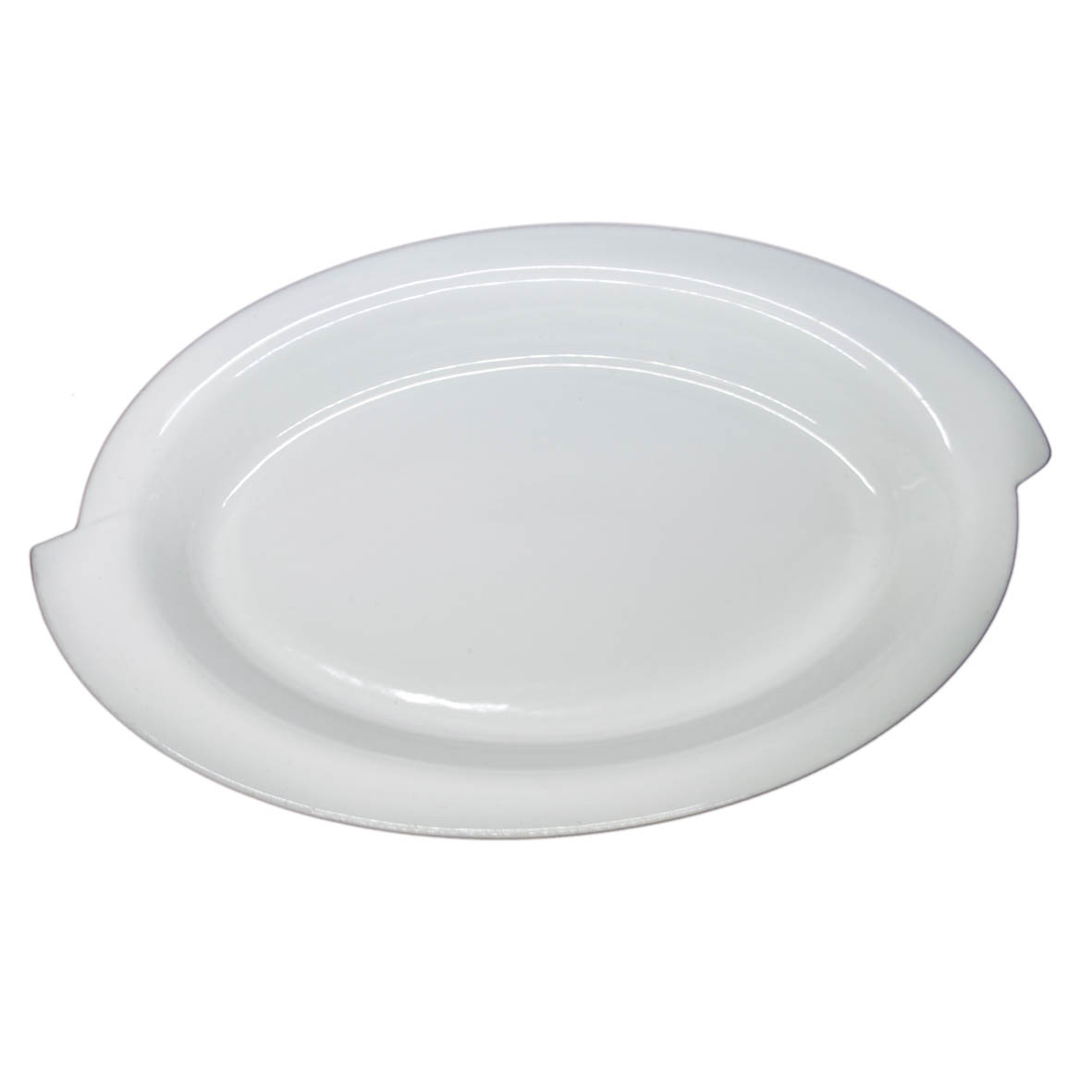 Travessa de Porcelana Oval Borda S 51x33x7