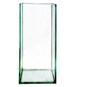 Caixinha vidro 10x10x20