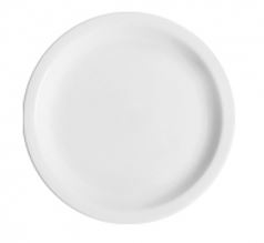 Prato de Sobremesa Branco Liso Germer