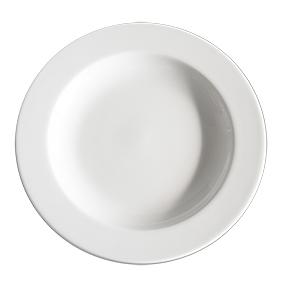 Prato de Porcelana Redondo Refratário 23cm