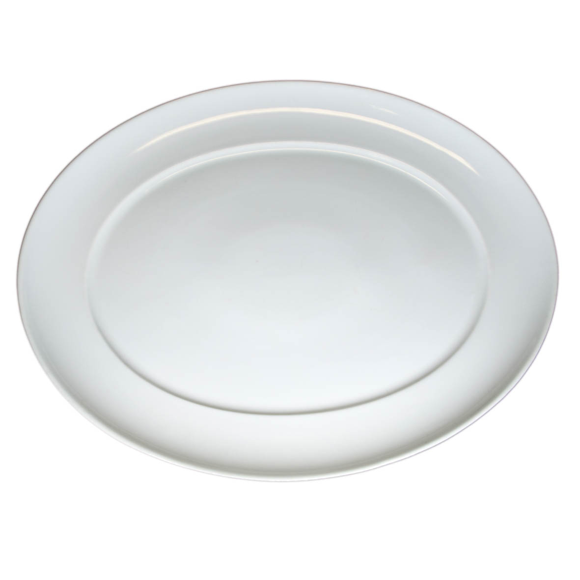 Travessa de porcelana Oval lisa